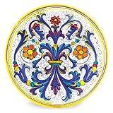 Arte D'Italia Imports Hand Painted Large Platter - Ricco Deruta
