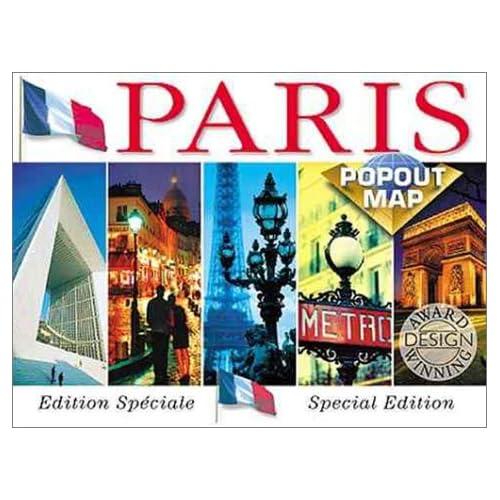 Paris Popout Map (Popout Maps Double) Map Group