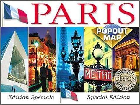 Paris On Map Of Europe.Paris Popout Map Europe Popout Maps Compass Maps Ltd Uk