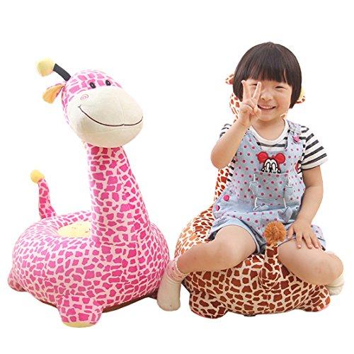Maxyoyo Kids Plush Riding Toys Bean Bag Chair Seat For
