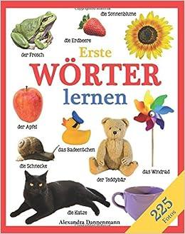Book Erste Wörter lernen - Ein Lernbilderbuch mit 225 Fotos. Ab 18 Monaten.