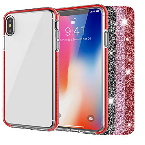 Price comparison product image DHCHO iPhone Xs Max Case, Cute Crystal Clear Cover for Women Girls