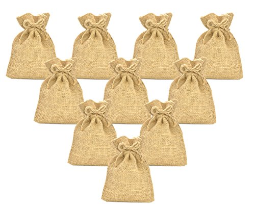 Firefly Craft Burlap Bags, 12 X 18 Inch, 10 Pack ()
