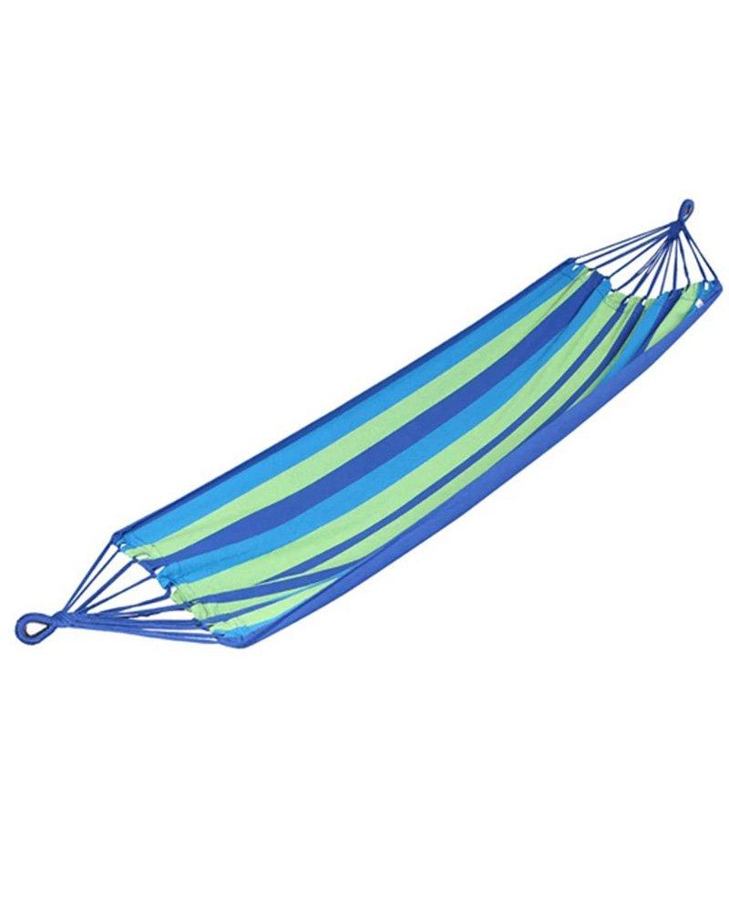 FEIFEI Outdoor Camping Spiel Kann Hold Farbe Bar Canvas Haus Büro Hängematte Student Schlafsaal Schlafzimmer Hängematte ( Farbe : 2 )