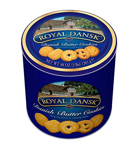 Danish Butter Cookies, 3-Lb Tin