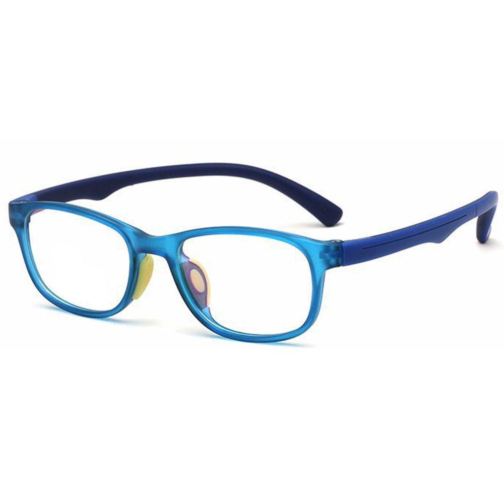 Fantia Kids Glasses Clear Lens for Boys and Girls Kids Glasses No Prescription Frame (C7)