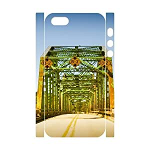3D Yearinspace Bridge For SamSung Galaxy S5 Mini Phone Case Cover Coosa River Bridge Alabama Cheap For Girls, For SamSung Galaxy S5 Mini Phone Case Cover Men, {White}