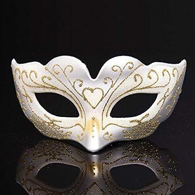 YULEJIA Mascara De La Mascarada,Venecia Parejas Halloween Party ...