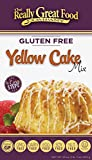 Really Great Food Company - Gluten Free Yellow Cake Mix - 23 ounce box - No Nuts, Soy, Dairy, Eggs - Vegan, Kosher and Non-GMO