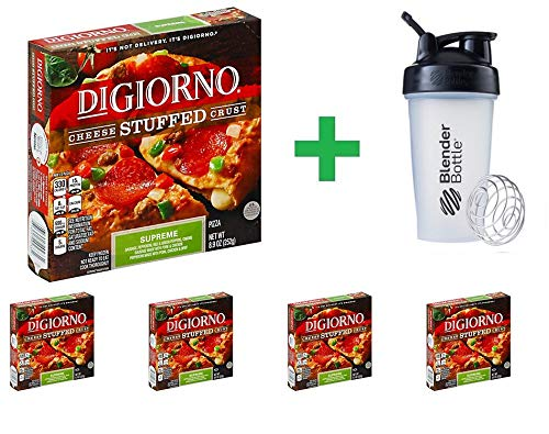 DiGiorno Cheese Stuffed Crust Supreme 8.9 oz (5 PCS) + Sundesa, BlenderBottle, Classic With Loop