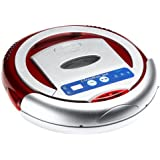 Infinuvo® CleanMate 365-Intelligent Robotic Vacuum Cleaner, Red