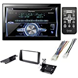CAR AFTERMARKET STEREO CD PLAYER RECEIVER + DASH KIT INSTALLATION + WIRE HARNESS FOR TOYOTA COROLLA 2003-2008