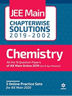 17 Years' Chapterwise Solutions Chemistry JEE Main 2019: Amazon in