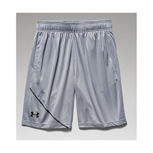 Under Armour Men's UA Quarter Shorts, Midnight Navy/Royal/Steel, MD x One Size