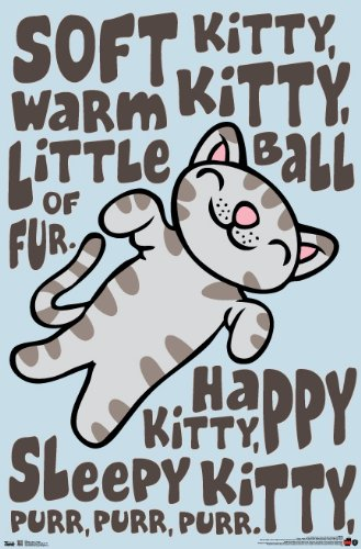 Trends International Unframed Poster Prints, Big Bang Theory Soft Kitty