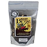 Hawaii's Local Buzz Chocolate Covered Vanilla Crunch Macadamia Nuts, Dark, 9 Ounce
