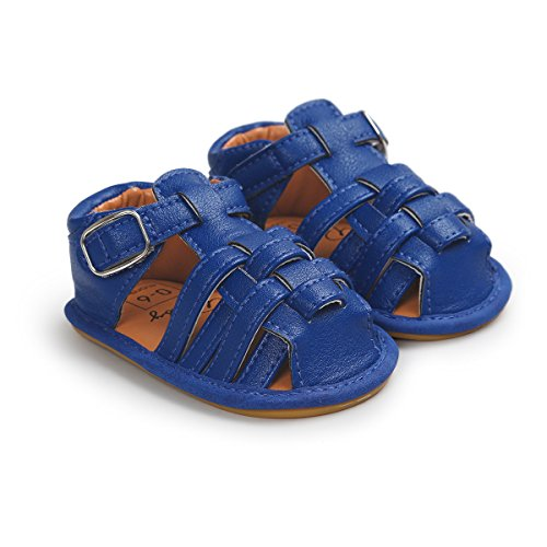 Image of Meckior Summer Baby Sandals Infant Boys Non-Slip First Walkers Shoes