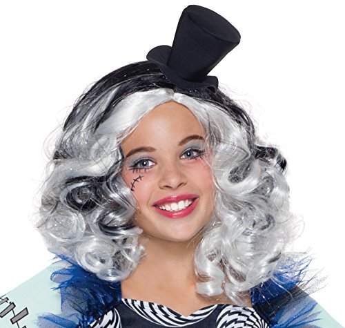 Rubie's Costume Monster High Freak du Chic Frankie Stein Child (Monster High Frankie Stein Wig)