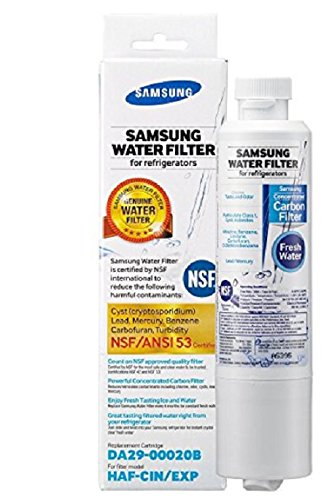 Samsung Genuine DA29-00020B Refrigerator Water Filter, 1 Pack