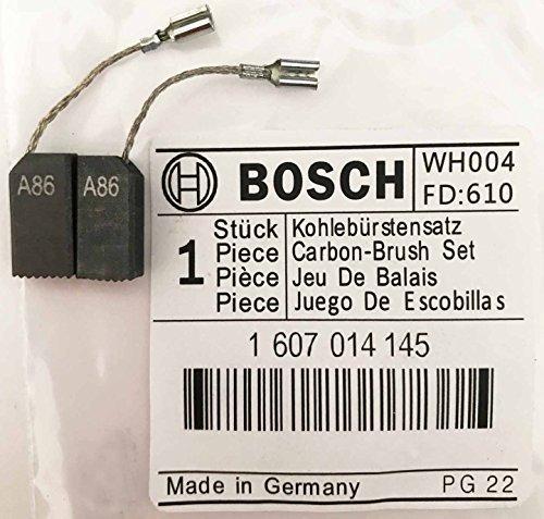 Authentique Original Bosch Brosses Carbone Paire 1607014145 pour GWS 660 GWS 600 GWS 6-100 / 6-100 E GWS 850 C GWS 850 CE GWS 6-115 / 6-115 E GWS 8-115 C PWS 700-115 850 CE GEX 150 S44 Faryear