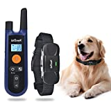 Training Dog Collar - ieGeek Rechargeable Dog Training Collar, Remote Electronic Dog Collar with Beep / Vibration / Shock, No Bark E collar Waterproof for Small / Medium / Large Dogs Pets + Instructions