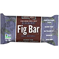 12-Pack Nature's Bakery Whole Wheat 2 Oz Fig Bar (Blueberry)
