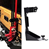 OMOTOR Off-Road Tailgate Hi-Lift Jack Mount Bracket fit for Jeep Wrangler JK 2007 2008 2009 2010 2011 2012 2013 2014 2015 2016 2017 2018 (JK Tailgate Hi-Lift Jack Mount Bracket)