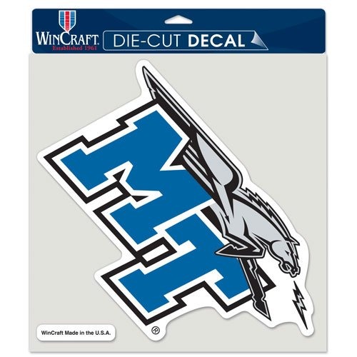 WinCraft NCAA Middle Tennessee State University Perfect Cut Color Decal, 8
