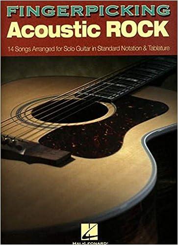 Fingerpicking Acoustic Rock Guitar TAB Music Book Fingerstyle