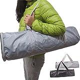 Ajusen Yoga Mat Bag Waterproof Gym Mat Bag Yoga Backpack Waterproof Strap Zipper Pocket