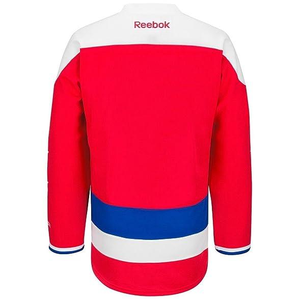 Amazon.com : Washington Capitals Alternate 3rd Red Reebok Premier ...