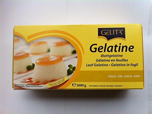- Gelita Gold Strength Leaf Gelatin - 500 Sheets/2.2 Pounds