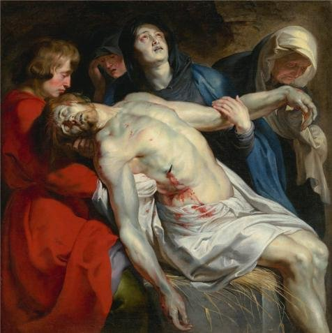 Oil Painting 'The Entombment, About 1612 By Peter Paul Rubens' 30 x 30 inch / 76 x 76 cm , on High Definition HD canvas prints is for Gifts And - Peter Griffin Sunglasses