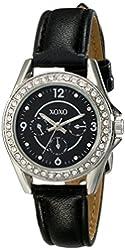 XOXO Women's XO3404 Analog Display Analog Quartz Black Watch