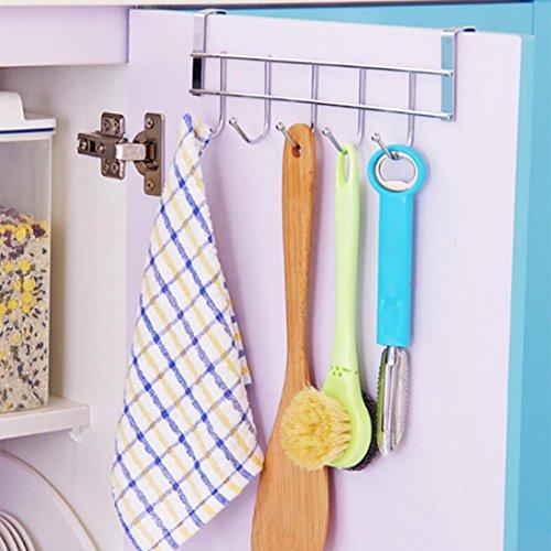 (YJYDADA Kitchen Storage Rack Cupboard Hanging Hook Hanger Chest Storage Organizer Holder)