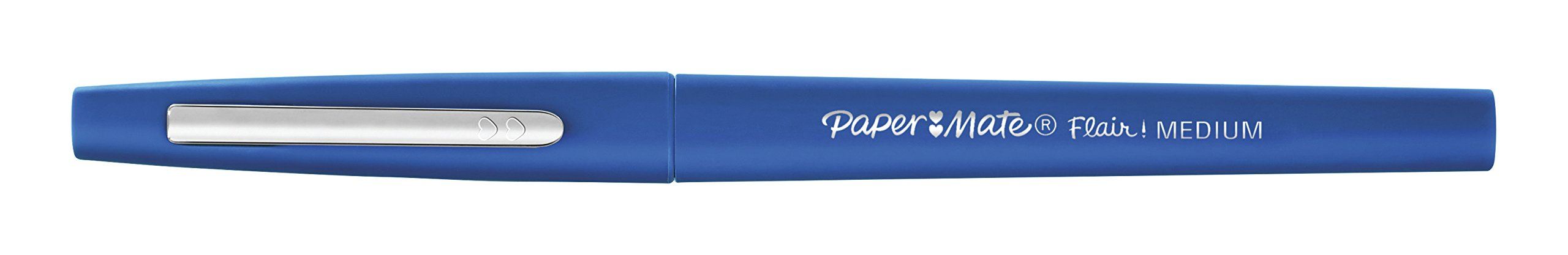 Paper Mate Flair Felt Tip Pens, Medium Point (0.7mm), Blue, 12 Count by Paper Mate (Image #2)