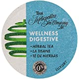 Metropolitan Tea Company Wellness Digestive Tea Capsule Compatible with Keurig 1.0K-Cup Brewers, 24-Count,