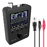 "ETEPON Digital Oscilloscope Kit DSO Shell 2.4"" TFT with BNC-Clip Cable Probe (Assembled Finished Machine) EM001 (Black)"