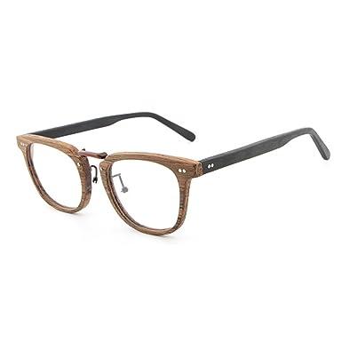 Holzbrillen für Männer Frauen - Mode Brillen Brillengestell - Juleya # 180207YJJ01 VUd8iXJ