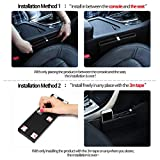 KMMOTORS-Ultra-Slim-Side-Pocket-BlackCar-Seat-Side-OrganizerCar-Pockets