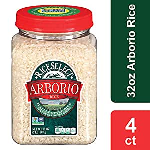 Amazon.com : RiceSelect Arborio Rice, 32 oz Jars (Pack of