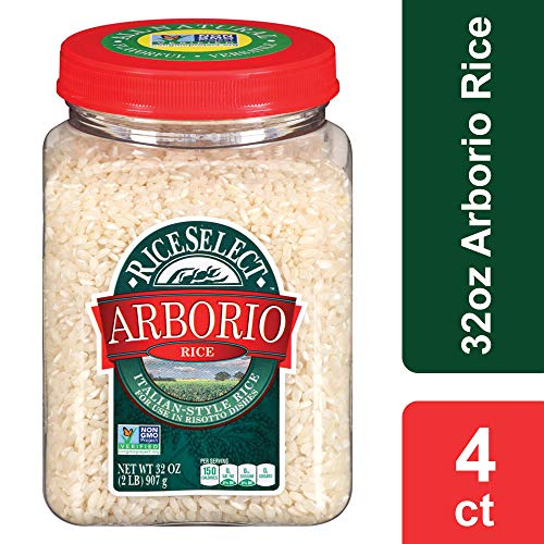 (RiceSelect Arborio Rice, 32 oz Jars (Pack of 4))