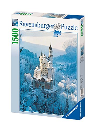 (Ravensburger Neuschwanstein Castle in Winter 1500 Piece Jigsaw)