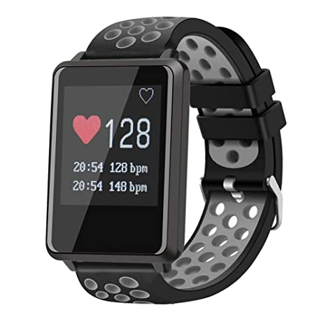 Smart Watch Fitness Tracker Con Monitor De Ritmo Cardíaco ...