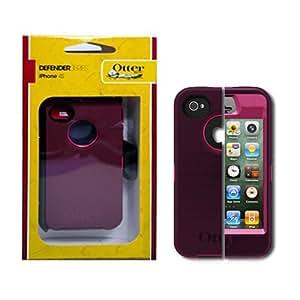OtterBox Defender Series f/iPhone 4/4S - Pink/Plum