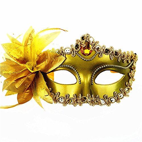 Rehot Masquerade Party Masks Womens Masks Venetian Ball Prom Mardi Gras Halloween Masks
