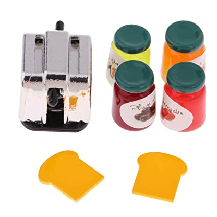 Amazon.es: KESOTO 1/12 Fabricante de Pan para Dollhouse con ...