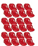 MLB Mini Batting Helmet Ice Cream Sundae/Snack Bowls, Phillies - 24 Pack