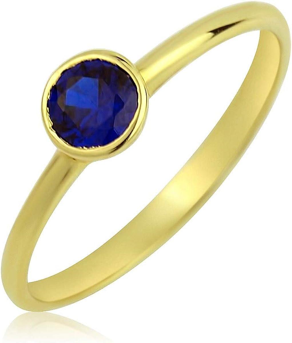 Aion Verlobungsring Weißgold 585 Massiv Gold Damen 4,5mm 28 Steine Gr 48-62-1103