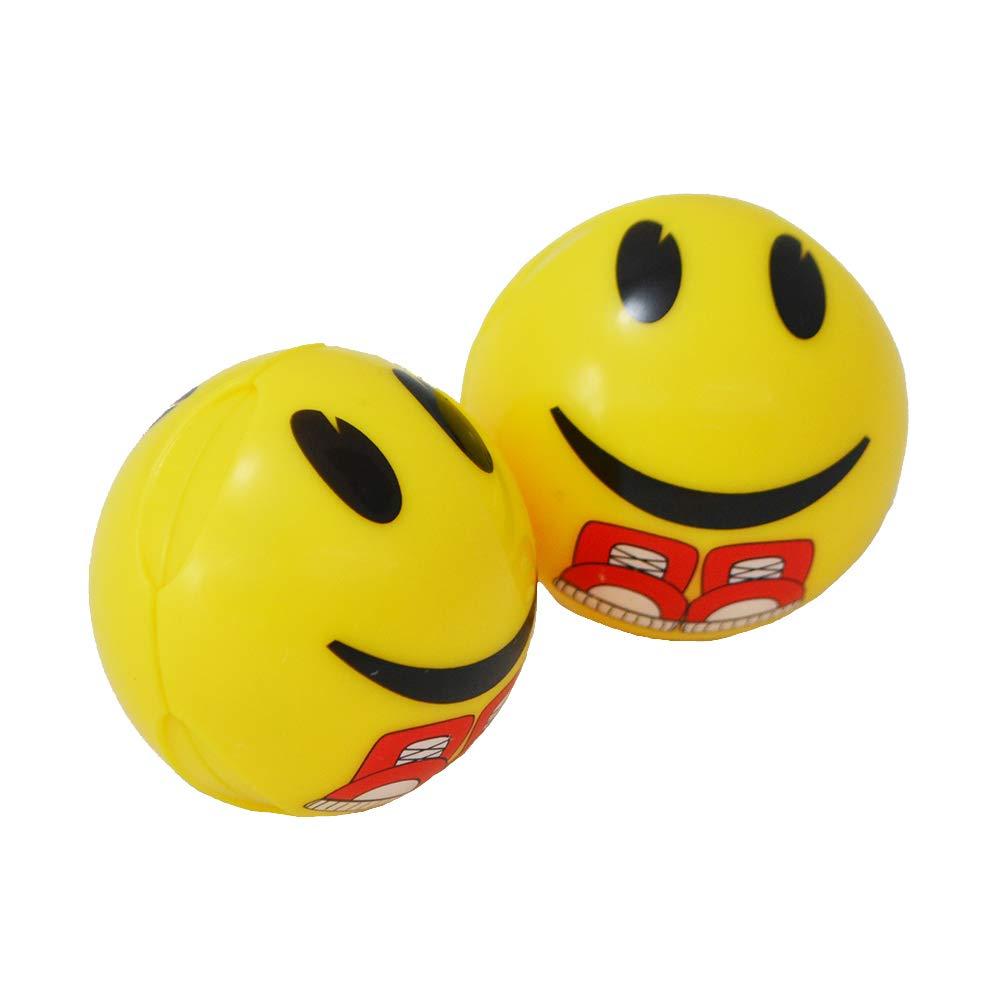 10 Seconds Shoe Deodorizing Gear Bombs 1 Pair Smiley